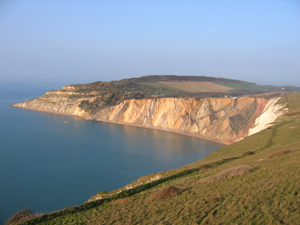 Geological summary of Alum Bay  Bay