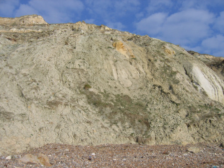Barton Clay exposed at Alum Bay
