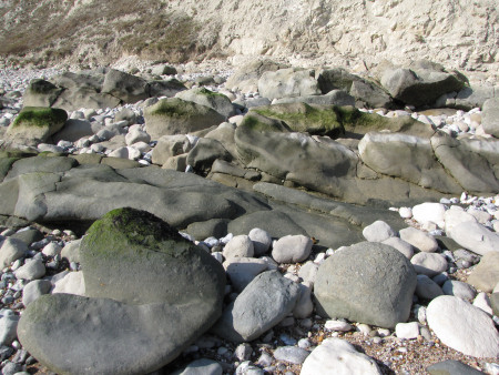 Upper Greensand exposed at Beachy Head