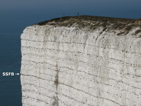 Seven Sisters Flint Band at Beachy Head