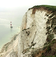 Beachy Head chalk cliffs