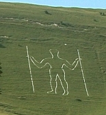 Long Man of Wilminton in East Sussex