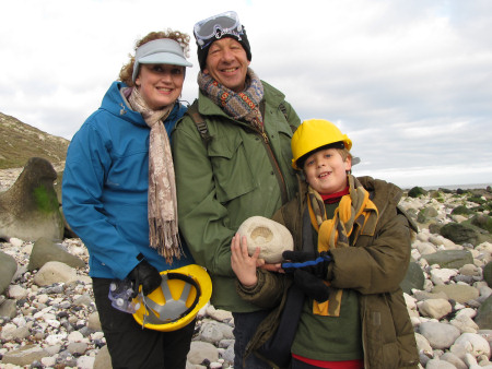Family fossil hunt at Beachy Head