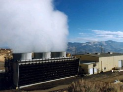 Geothermal plants utilise underground heat