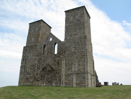 Reculver Tower 12th century parish church
