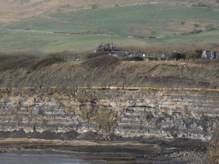 BP oil well at Kimmeridge