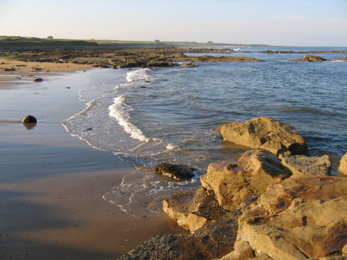 Kingsbarns beach in Fife