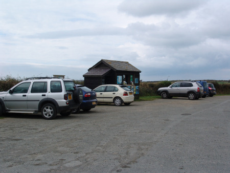 Parking facilities at Marloes Sands