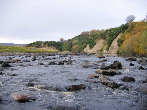 River Brora Scotland fossil hunting location