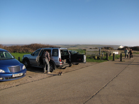 Seaford Head car park