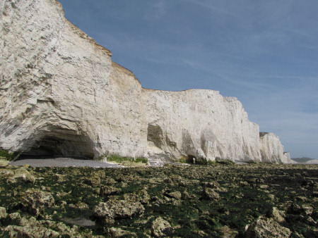 Seven Sisters Short Brow chalk cliffs