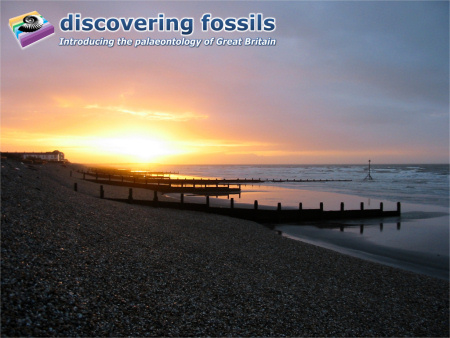 Bracklesham Bay sunrise wallpaper