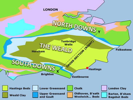 Geology of South East England