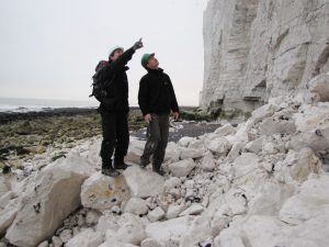 Beachy Head Roy and Rob