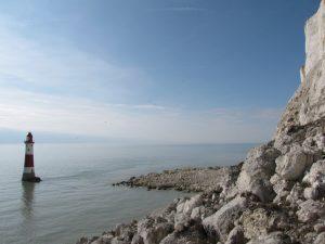 High tide at Beachy Head