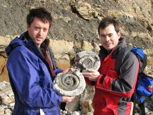 Osmington Mills ammonites