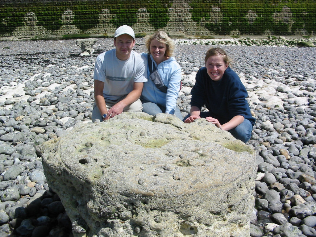Robert, Denise and Lucinda at Peacehaven