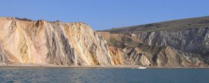 Alum Bay cliffs geology