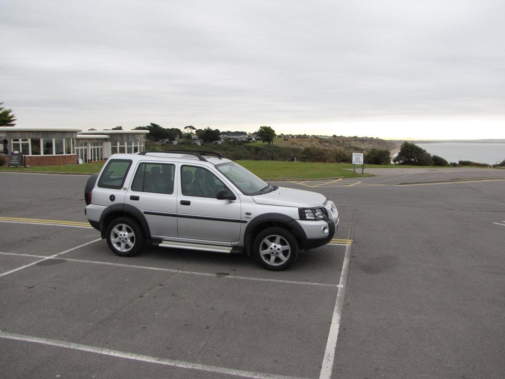 Barton on Sea parking