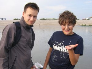 Bracklesham Bay Robert and Jonathan