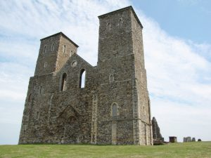 Herne Bay Reculver Towers close-up