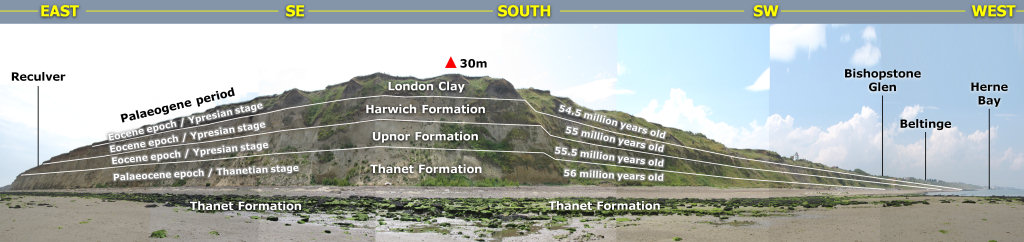 Herne Bay geology