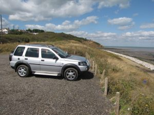 Isle of Sheppey Warden Point parking