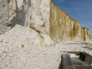Peacehaven cliff fall