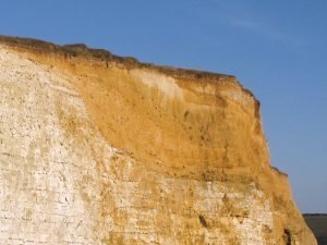 Seaford Head contour of the Chalk valley