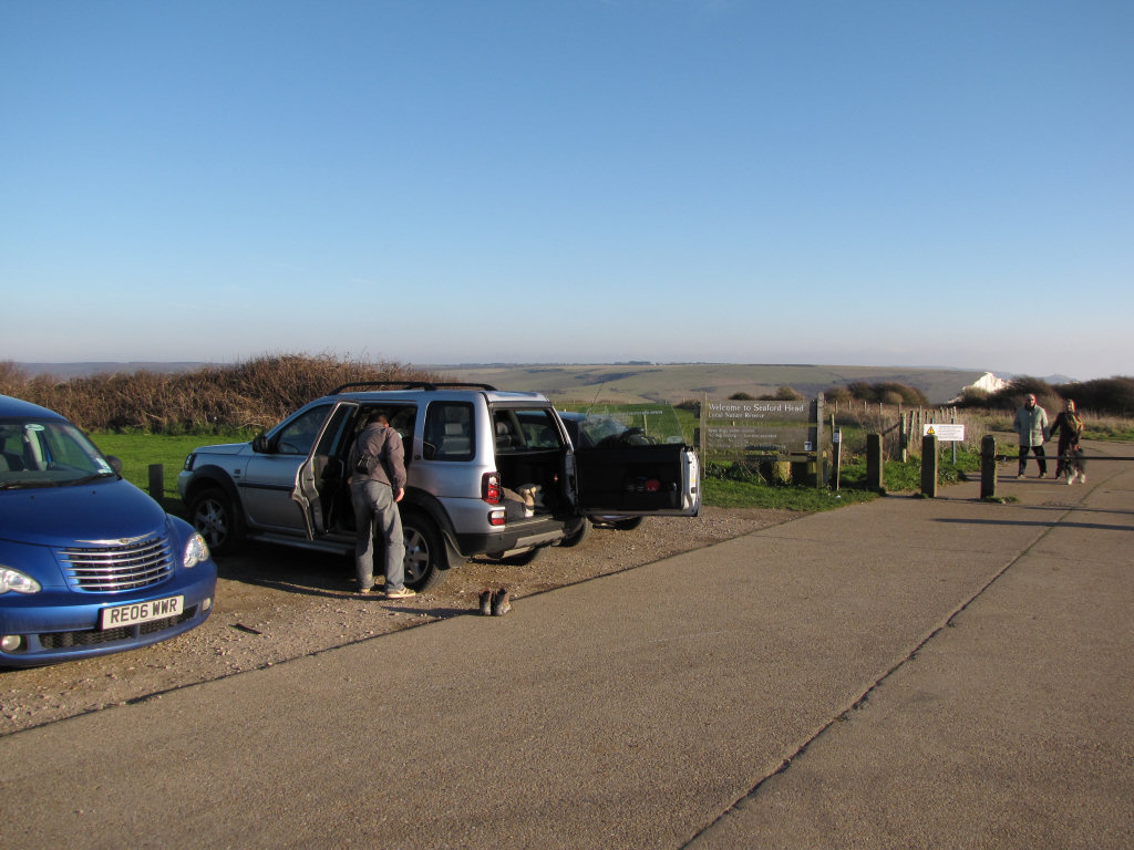 Seaford Head parking