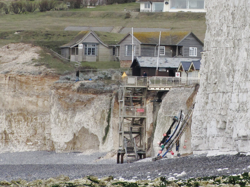 Seven Sisters beach access