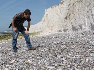 Seven Sisters fossil hunting