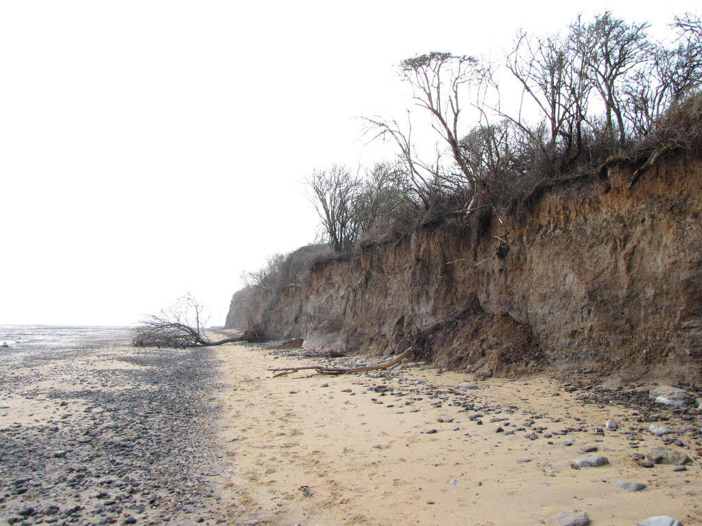 Walton-on-the-Naze erosion